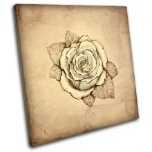 Abstract Rose Floral - 13-1322(00B)-SG11-LO